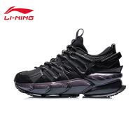 李宁跑步鞋男鞋官方2021新款男士鞋子黑色潮流跑鞋低帮运动鞋男