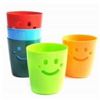 可爱笑脸彩色心情桌面收纳桶/迷你杂物桶