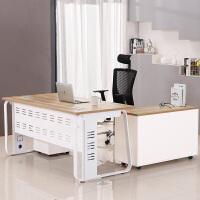 老板桌办公桌简约现代办公家具板式大班台主管桌经理桌单人电脑桌