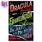 科学怪人,德古拉,化身博士 英文原版 Signet Classics: Frankenstein; Dracula;