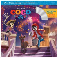 Coco:Storybook+CD 寻梦环游记:故事书+CD 迪斯尼Disney 英文原版儿童故事书
