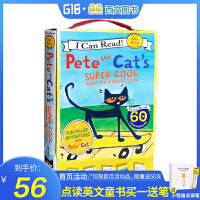 I Can Read My First Pete the Cat's Super Cool 皮特猫5本盒装 积极乐观的猫咪!宝贝爱!送音频