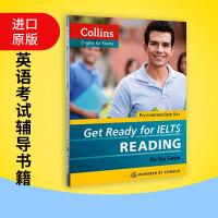 基础雅思阅读 英文原版考试书 Get Ready for IELTS Reading 备考雅思 英文版现货正版进口英语