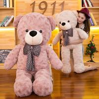 泰迪熊毛绒玩具猫大号1.6米布娃娃抱抱熊公仔情人节生日礼物女生