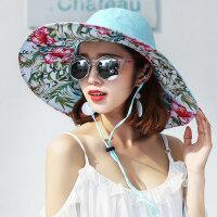 帽子女韩版百搭时尚遮阳帽出游百搭女士凉帽防晒遮脸太阳帽