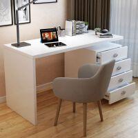 【满减优惠】电脑桌台式现代简约家用写字台书架写字桌卧室简易小桌子学生书桌