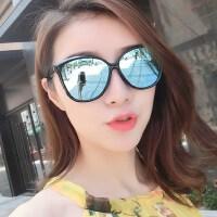 时尚复古潮流眼镜 新款女士太阳镜女大框圆脸墨镜女 欧美女士驾驶偏光镜