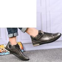 高帮板鞋男 欧美秋冬新款铆钉男鞋鞋运动高帮板鞋增高靴子舒适休闲时尚板鞋男