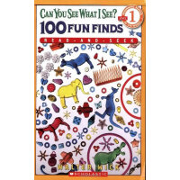Scholastic Reader Level 1: Can You See What I See? 100 Fun