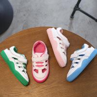 春夏儿童运动凉鞋女童鞋单鞋宝宝镂空凉鞋男童小白鞋板鞋