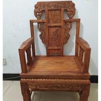 圈椅官帽椅子太师椅皇宫椅中式明清古典榆木仿古家具实木围椅