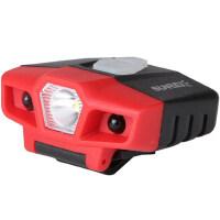 可充电钓鱼led饵料头灯 感应夜钓帽灯户外强光防水锂电池