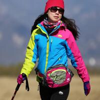 户外女士拼色多功能单层冲锋衣徒步自驾游登山服外套 户外登山服