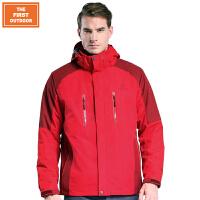 美国第一户外 冬季新款第四代两件套冲锋衣 三合一情侣款