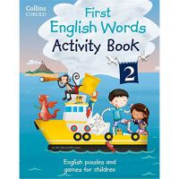 First English Words Activity Book: Book 2