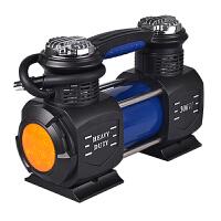 大功率300W双缸车载充气泵越野12V便携式汽车用轮胎打气泵