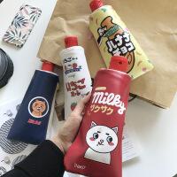 韩国可爱小清新卡通笔袋 创意学生女生简约大容量文具盒初中生