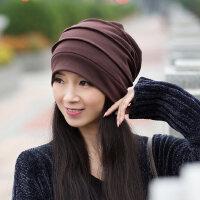 帽子女韩版潮时尚休闲百搭时尚月子帽包头堆堆帽