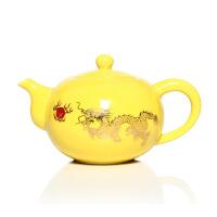 尚帝茶具 龙图案 玉瓷茶壶 功夫茶具配件 零配 陶瓷茶壶 金龙盛世  DPCHHJL3