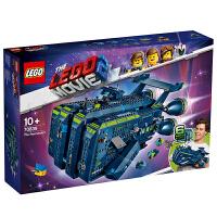 【当当自营】LEGO乐高积木乐高大电影2LEGO70839 10岁+雷克斯棒呆号