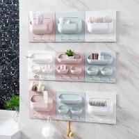 厨房置物架 厨房无痕贴强力粘贴置物架厨房浴室塑料置物架