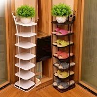 鞋架多层省空间简易落地式迷你客厅鞋柜家用门口创意窄鞋柜
