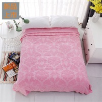 毛巾被纯棉双人单人儿童夏季学生毯子午睡毛毯盖毯全棉老式毛巾毯定制