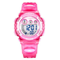 儿童手表儿童电子表 防水运动夜光可爱女童小学生手表