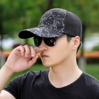 男士帽子时尚潮韩个性男棒球帽潮牌遮阳帽青年韩版鸭舌太阳帽