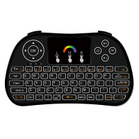 ikodoo爱酷多 通用型带触控遥控空中飞鼠无线迷你键盘遥控器 适合安卓系统/机顶盒/智能电视