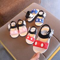 女宝宝凉鞋1-3岁女童鞋软底婴儿童学步鞋子小童公主鞋夏季