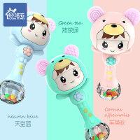 婴儿益智玩具新生儿玩具1岁宝宝摇铃节奏棒女孩男孩0-3-6-12个月