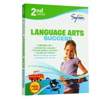 Second Grade Language Arts Success 美国小学二年级语言艺术/语文练习册 英文原版 英