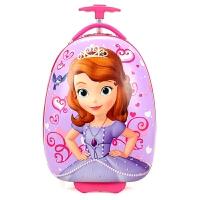 儿童拉杆箱小猪蛋壳佩奇女生16寸卡通男孩幼儿园行李箱旅行箱 16寸蛋形双轮