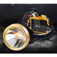 充电远射手电筒超亮头戴式防水LED头灯强光矿灯钓鱼灯