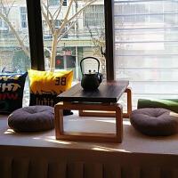 【满减优惠】实木炕桌榻榻米茶几飘窗桌可折叠炕几地桌阳台日式小茶几禅意茶台