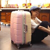 拉杆箱万向轮行李箱铝框箱包密码箱20寸登机箱24寸可爱行李箱
