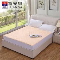 富安娜家纺 床垫 床保护垫 可折叠床垫床上用品轻柔薄床垫