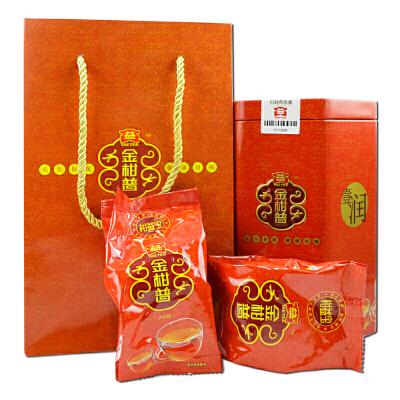 大益普洱茶 金柑普 柑益宝(大红柑) 260克/罐 一罐装