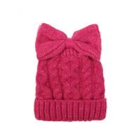 户外儿童毛线帽宝宝帽子韩版男女童加绒加厚针织帽保暖套头帽