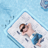 babycare婴儿冰丝凉席儿童透气防螨新生儿幼儿园宝宝婴儿床凉席夏