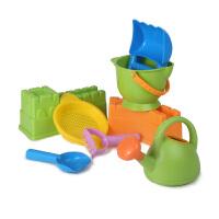 Hape旗舰长城套8件套1-6岁儿童戏水玩沙运动户外玩具沙滩玩具 送沙滩袋