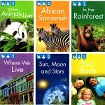 Kingfisher Readers Level 2 英文原版 自然百科 儿童分级读物6册