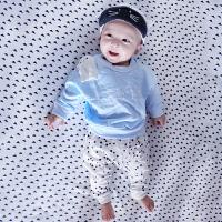 婴儿童套装冬季宝宝2春季衣服0岁1个月3装休闲外出服8新年