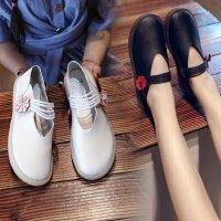大童10小皮鞋软妹休闲软底单鞋14岁平底女鞋少女女学生