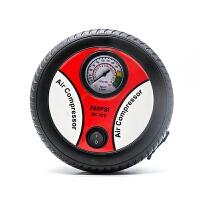 车载充气泵 汽车用便携式高压电动单缸12V轿车轮胎冲气应急打气筒