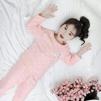 儿童秋衣秋裤套装小女孩卡通家居服睡衣两件套女童中大童内衣套装