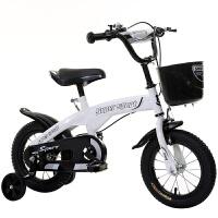 自行车儿童女孩2-4岁女宝宝儿童自行车1一3岁小孩迷你男孩单车 白色 标配