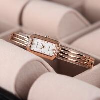 天王表专柜同款时尚女表气质魅力钢带石英女士手表LS3371P白