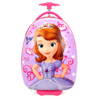 儿童拉杆箱小猪蛋壳佩奇女生16寸卡通男孩幼儿园行李箱旅行箱 16寸蛋形双轮收藏送